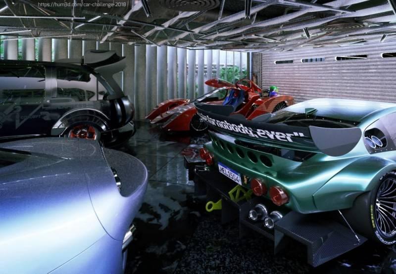 Hum3D第五届 2018年度最佳汽车渲染大赛 Car Render Challenge 2018 作品欣赏 多图慎入 - R站|学习使我快乐! - 17
