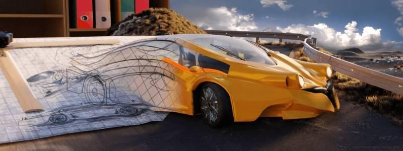 Hum3D第五届 2018年度最佳汽车渲染大赛 Car Render Challenge 2018 作品欣赏 多图慎入 - R站|学习使我快乐! - 33
