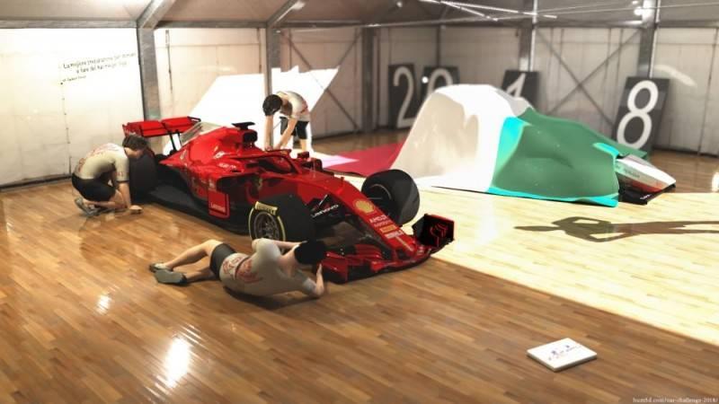 Hum3D第五届 2018年度最佳汽车渲染大赛 Car Render Challenge 2018 作品欣赏 多图慎入 - R站|学习使我快乐! - 39