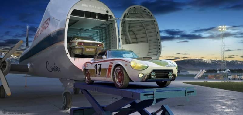 Hum3D第五届 2018年度最佳汽车渲染大赛 Car Render Challenge 2018 作品欣赏 多图慎入 - R站|学习使我快乐! - 55