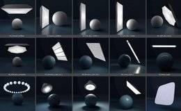 C4D预设:阿诺德渲染器 摄影棚XPresso灯光、无限地板、背板预设合集包 Gumroad – Arnold Light Suite C4D 免费下载