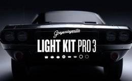 C4D预设:灰猩猩GSG灯光预设包 Light Kit Pro 3 支持标准/物理/Arnold/Octane/Redshift等渲染器 免费下载