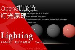 【R站译制】中文字幕《灯光宝典系列》OpenGL的灯光概念&数学原理 视频教程