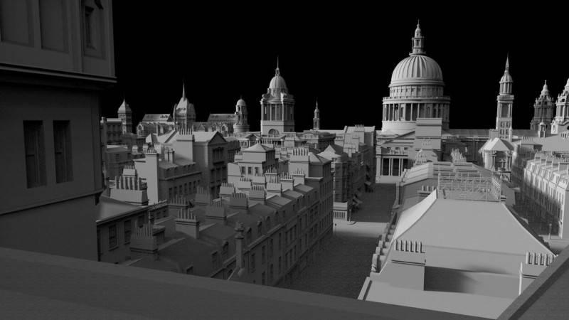 3D模型:维多利亚时代中世纪欧美建筑景观3D模型合集 Kitbash3D – Victorian (.OBJ/.FBX/.MA/.MTL格式) 免费下载 - R站 学习使我快乐! - 4