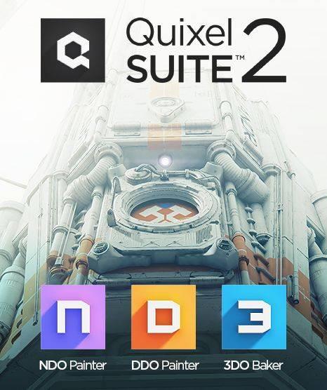 次世代三维贴图工具包 Quixel Suite v2.3.2 (DDO纹理/NDO法线/3DO预览) 中文安装免费版(附破解文件) 兼容PS 2018 免费下载 - R站|学习使我快乐! - 1