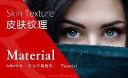 【R站译制】中文字幕《皮肤微观结构与置换贴图》Skin Texture 角色材质技法必备 (更新皮肤拉伸模拟) 视频教程 免费观看