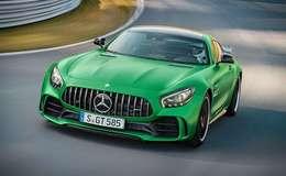 "3D模型:梅赛德斯·奔驰 ""绿色魔鬼"" Mercedes-AMG GT R 全新跑车模型 (.c4d/.fbx/.max格式) 免费下载"