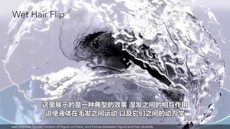 【R站译制】中文字幕 CG&VFX《模拟头发和流体相互作用的多尺度模型》Liquid&Hair Simulating 视频教程 免费观看 - R站|学习使我快乐! - 2