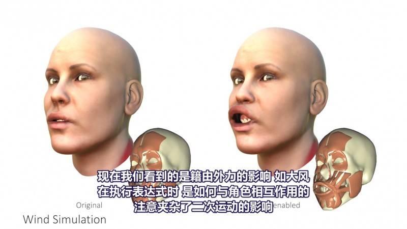 【R站译制】中文字幕 CG&VFX《基于物理的人脸建模与动画》Physics-based Face 视频教程 免费观看 - R站|学习使我快乐! - 3