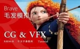 【R站译制】中文字幕 CG&VFX《勇敢传说毛发模拟系统》Hair Simulation 来自皮克斯小姐姐 视频教程 免费观看