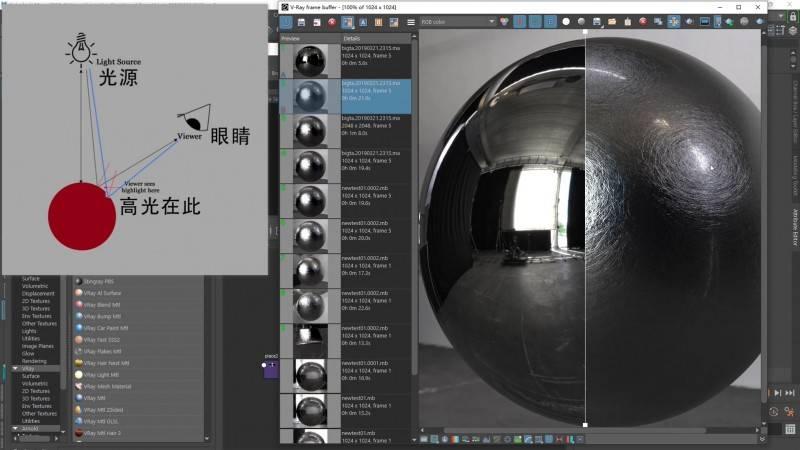 【Eric Zhang】来自ILM光魔神佬《Swril旋涡刮痕材质》Maya & Vray 制作流程解析 视频教程 免费观看 - R站|学习使我快乐! - 2