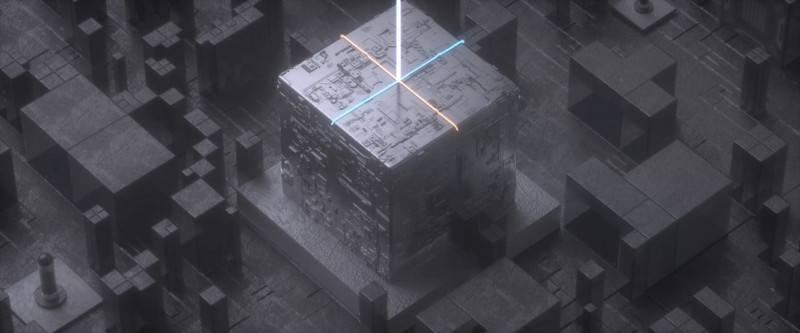 【R站Seven Panda】C4D & Octane教程《魔方光效动画》Magic Cube Light 视频教程 免费观看 - R站|学习使我快乐! - 3