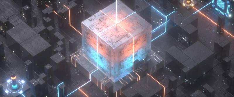 【R站Seven Panda】C4D & Octane教程《魔方光效动画》Magic Cube Light 视频教程 免费观看 - R站|学习使我快乐! - 5