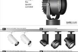 3D模型:24组高质量灯具模型包 包含射灯、地灯、筒灯等 (.OBJ/.FBX格式,.IES灯光数据) 免费下载