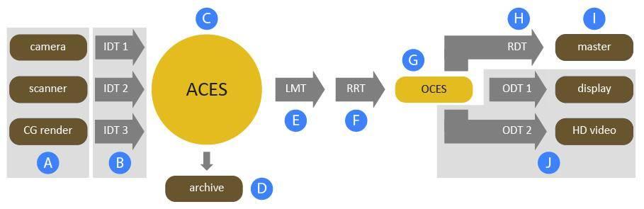 Arnold(C4DToA)阿诺德渲染教程(115):在 Arnold 渲染器中使用ACES专业色彩编码系统 (ACES下载) 强烈推荐 - R站|学习使我快乐! - 1