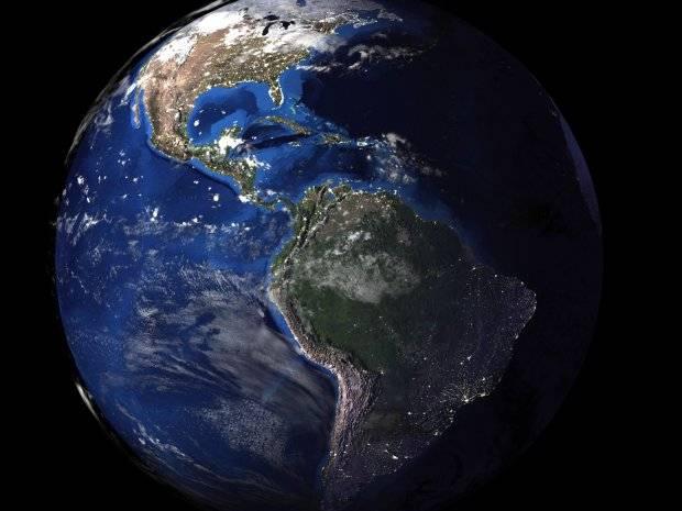 3D模型:来自NASA真实的3D地球模型 Realistic Planet Earth 含贴图 (.OBJ/.MAX./.3ds格式) 免费下载 - R站|学习使我快乐! - 1