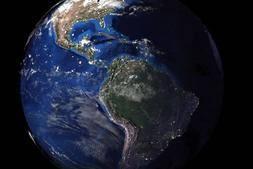 3D模型:来自NASA真实的3D地球模型 Realistic Planet Earth 含贴图 (.OBJ/.MAX./.3ds格式) 免费下载