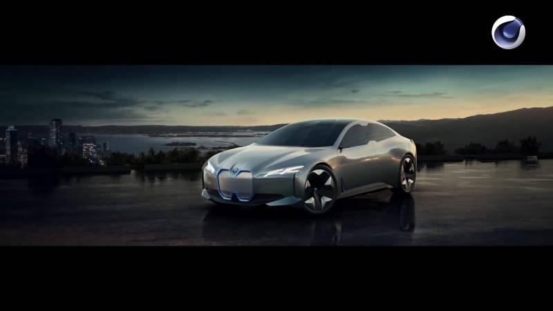 【VIP专享】C4D教程 《BMW i8 混动双门超跑炫酷概念宣传片》 幕后视效完整工作流解析 BMW i8 Workflow 视频教程 - R站|学习使我快乐! - 8