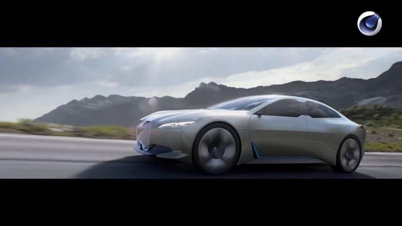 【VIP专享】C4D教程 《BMW i8 混动双门超跑炫酷概念宣传片》 幕后视效完整工作流解析 BMW i8 Workflow 视频教程 - R站|学习使我快乐! - 10