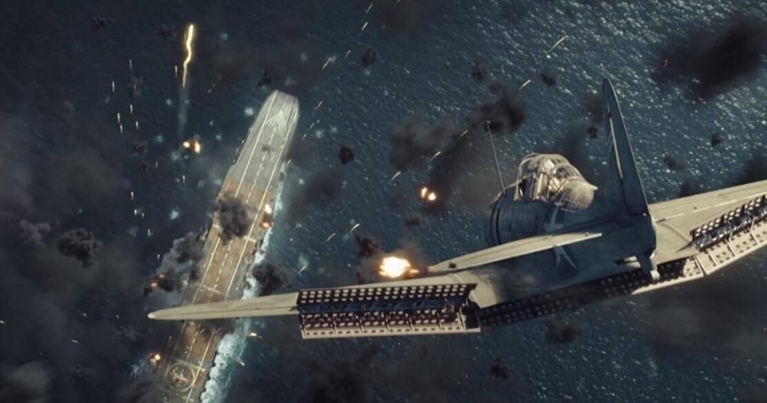 电影《中途岛》(Midway) 幕后 皮克蒙多(Pixomondo)如何让太平洋剧院焕发生机 以及为什么要上Arnold