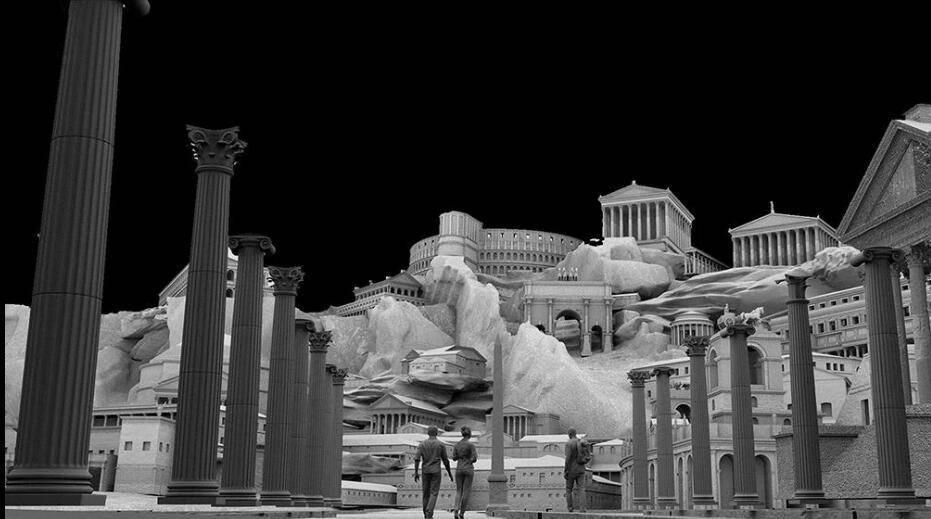 3D模型:罗马帝国著名建筑3D模型 Kitbash3D - Roman Empire (.MA/.3DS/.C4D/.BLEND/.FBX/.OBJ格式) 免费下载 - R站|学习使我快乐! - 2