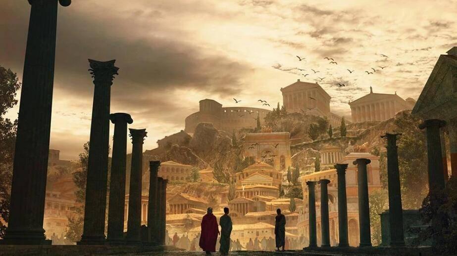 3D模型:罗马帝国著名建筑3D模型 Kitbash3D - Roman Empire (.MA/.3DS/.C4D/.BLEND/.FBX/.OBJ格式) 免费下载 - R站|学习使我快乐! - 1