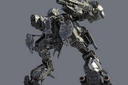 3D模型:三维机甲机器人模型 Turbosquid – Robot MW – 3d model (.Obj/.Max/.3DS格式) 免费下载