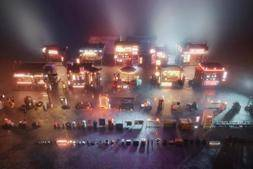 3D模型:赛博朋克未来科幻城市街道楼房模型 KitBash3D Props – Cyber Streets  (.MA/.MAX/.FBX/.OBJ格式含材质)