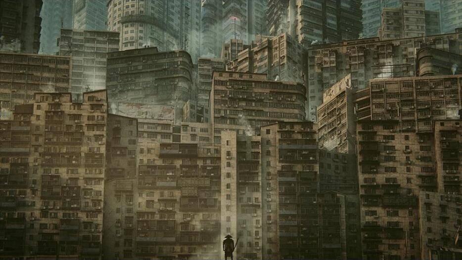 3D模型:反乌托邦城市、贫民窟、无人区建筑模型 Kitbash3D - Future Slums  (.MA/.MAX/.FBX/.OBJ格式含材质) 免费下载 - R站|学习使我快乐! - 1