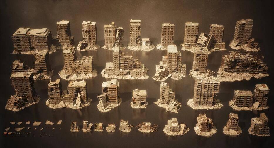 3D模型:末日毁灭战后废墟城市场景模型包 KitBash3D Aftermath (.FBX/.MTL格式含材质贴图) 免费下载 - R站|学习使我快乐! - 2
