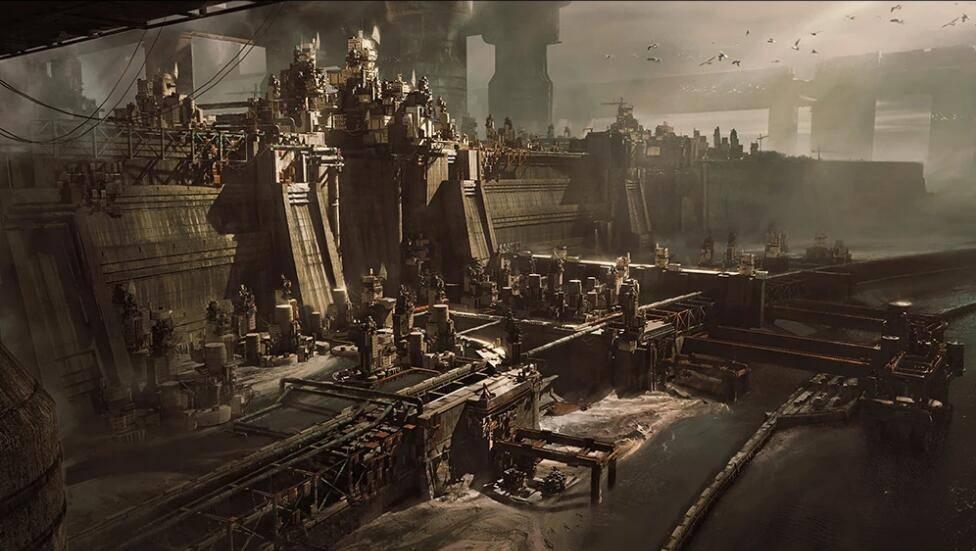 3D模型:未来史诗庞大的堡垒建筑场景包 Kitbash3d - Wasteland (.C4D/.OBJ/.FBX格式含材质材质贴图) 免费下载 - R站 学习使我快乐! - 1