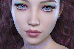 【Daz模型】DazStudio 高品质亚裔小姐姐角色模型包 Alyx for Genesis 8 Female