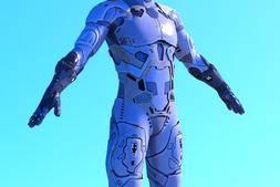 【Daz模型】DazStudio 高品质男性科幻套装模型包 ShuShuara Outfit For Genesis8 Male(s)
