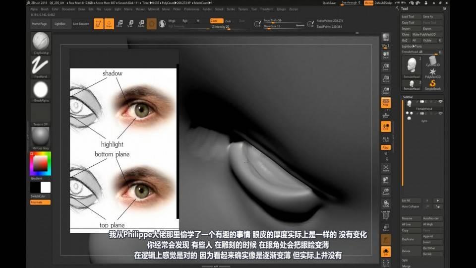 【R站译制】中文字幕 CG&VFX《人物角色宝典》深入人物角色 (建模、布线、拓扑、边线流、毛发、绑定等) 进阶技法  (不断更新ing…) - R站|学习使我快乐! - 40
