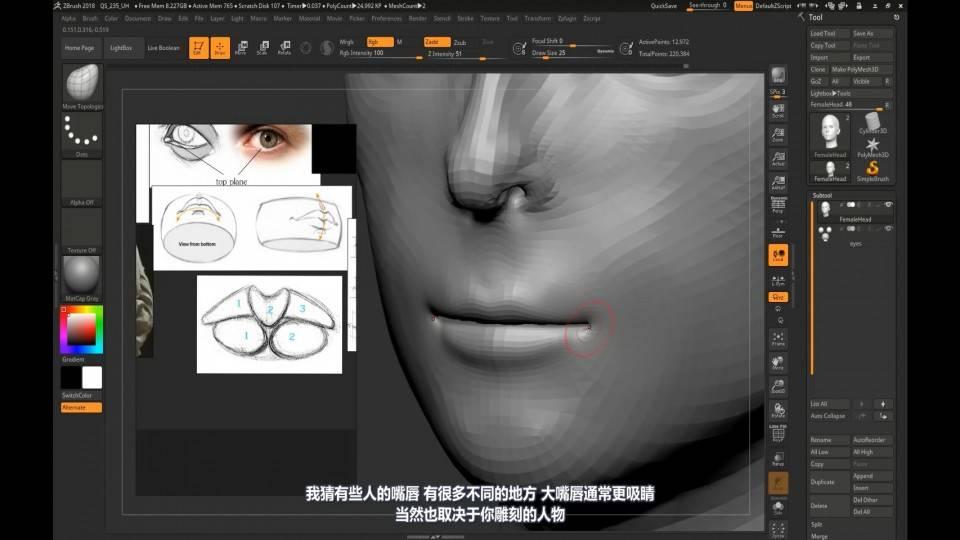 【R站译制】中文字幕 CG&VFX《人物角色宝典》深入人物角色 (建模、布线、拓扑、边线流、毛发、绑定等) 进阶技法  (不断更新ing…) - R站|学习使我快乐! - 41
