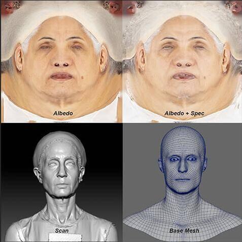 人物角色数字头像 (建模、雕刻、纹理) 创作图文工作流程 (6) DIGITAL FACE 牙、舌、眼、脸部等超强高级解析教程 - R站 学习使我快乐! - 1