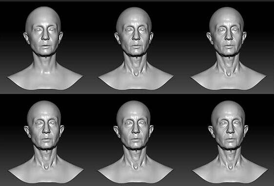 人物角色数字头像 (建模、雕刻、纹理) 创作图文工作流程 (6) DIGITAL FACE 牙、舌、眼、脸部等超强高级解析教程 - R站 学习使我快乐! - 6