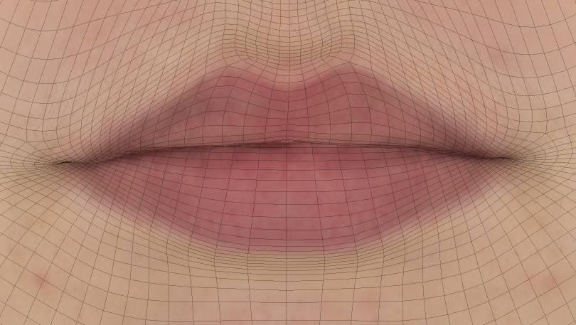 人物角色数字头像 (建模、雕刻、纹理) 创作图文工作流程 (5)  DIGITAL FACE 全面解析教程 - R站|学习使我快乐! - 7