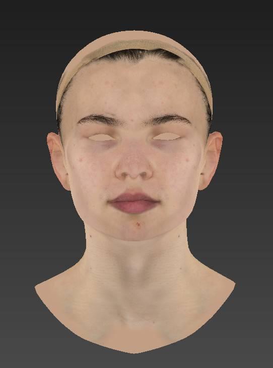 人物角色数字头像 (建模、雕刻、纹理) 创作图文工作流程 (5)  DIGITAL FACE 全面解析教程 - R站|学习使我快乐! - 6