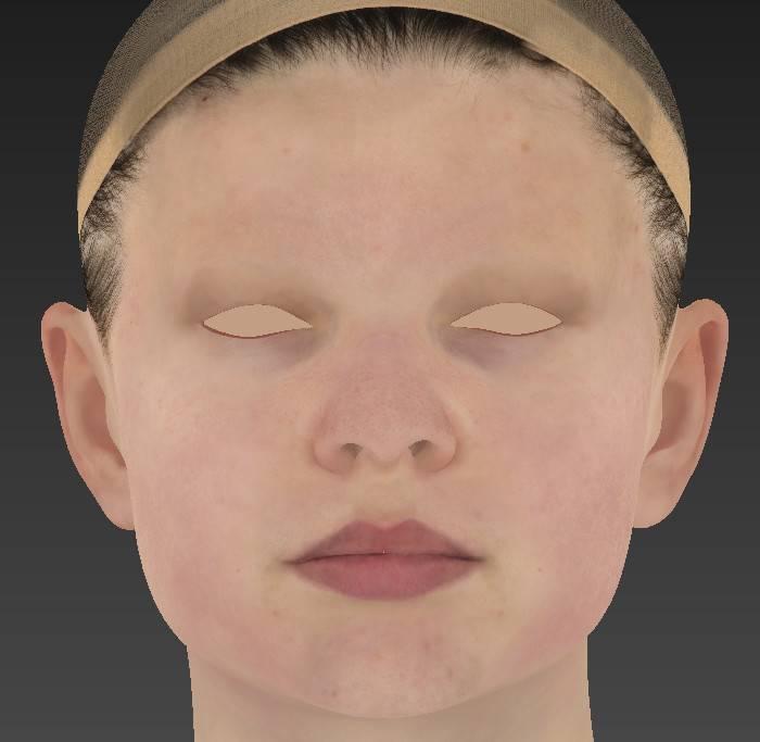人物角色数字头像 (建模、雕刻、纹理) 创作图文工作流程 (5)  DIGITAL FACE 全面解析教程 - R站|学习使我快乐! - 8