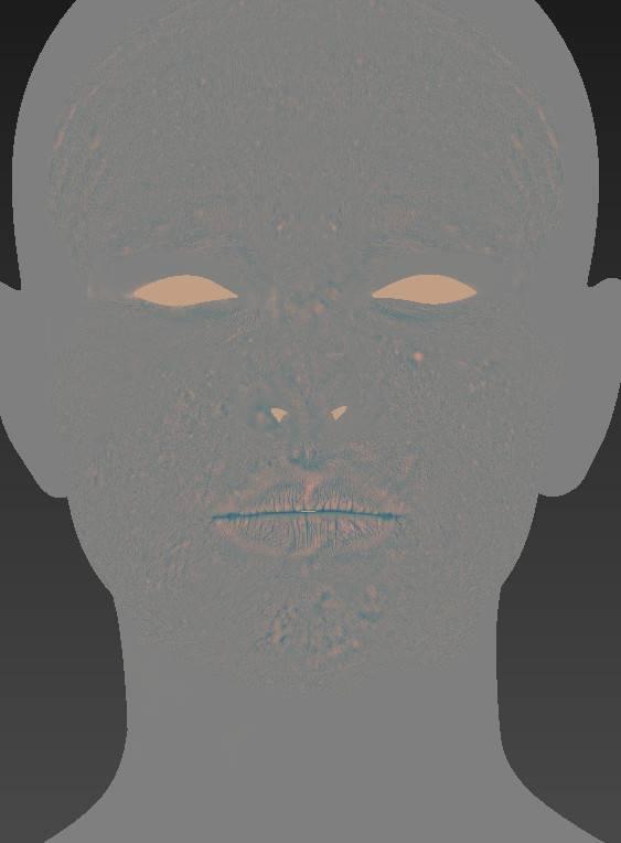 人物角色数字头像 (建模、雕刻、纹理) 创作图文工作流程 (5)  DIGITAL FACE 全面解析教程 - R站|学习使我快乐! - 3