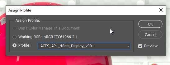 PS插件:使用OpenColorIO for PS插件,在Photoshop中对ACEScg渲染进行处理 (附Win/Mac插件下载) - R站|学习使我快乐! - 6