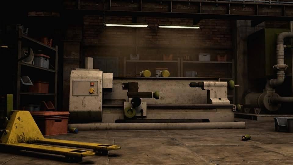 3D模型:工业场景内部的中兴机械设备道具 KitBash3d Props: Machinery (MAX/C4D/FBX/OBJ格式) 免费下载 - R站 学习使我快乐! - 3