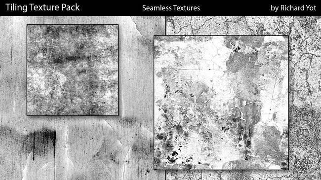 贴图纹理:100+ 灰尘、污垢、污渍、裂纹等高品质无缝贴图包 Gumroad – Tiling Texture Pack – Seamless Textures For Any 3D Application v1.2 免费下载 - R站|学习使我快乐! - 1