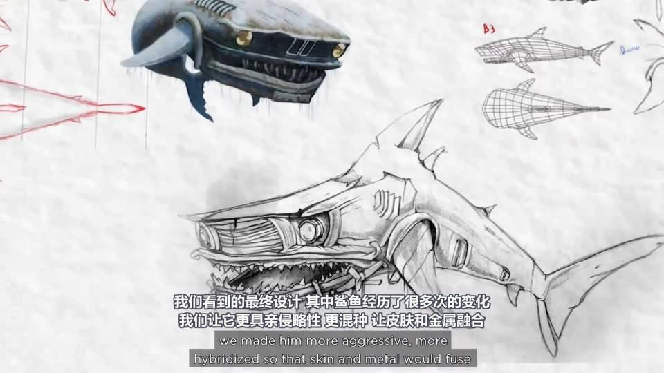 【R站译制】CG&VFX 《Hybrids》 获奖无数的 海洋环境污染环保主题 短片赏析&幕后解析 Arnold渲染 视频教程 免费观看 - R站 学习使我快乐! - 7