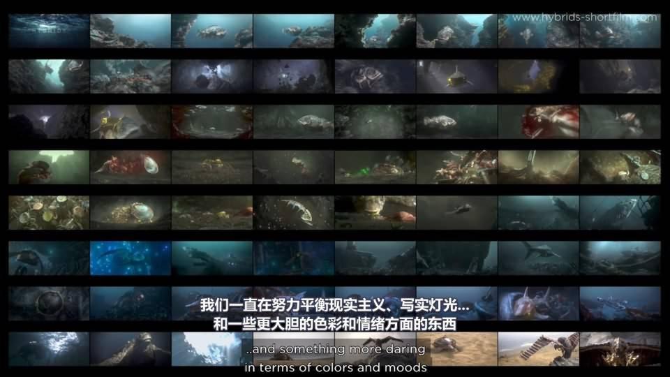 【R站译制】CG&VFX 《Hybrids》 获奖无数的 海洋环境污染环保主题 短片赏析&幕后解析 Arnold渲染 视频教程 免费观看 - R站 学习使我快乐! - 5