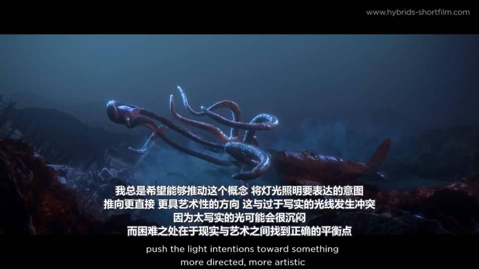 【R站译制】CG&VFX 《Hybrids》 获奖无数的 海洋环境污染环保主题 短片赏析&幕后解析 Arnold渲染 视频教程 免费观看 - R站 学习使我快乐! - 4