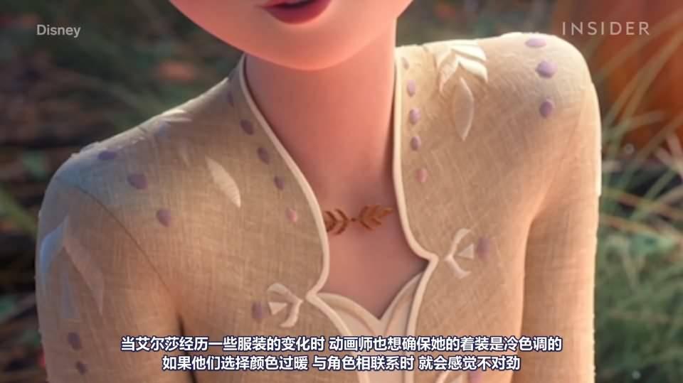 【R站译制】CG&VFX 迪士尼经典动画电影《冰雪奇缘II》幕后视效解析 Frozen II 视频教程 免费观看 - R站|学习使我快乐! - 7