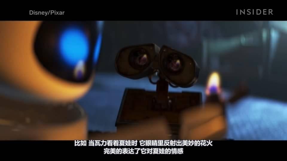 【R站译制】CG&VFX 《灯光宝典》机器人总动员 皮克斯是如何用灯光来创造浪漫场景的 Romance Scene 视频教程 免费观看 - R站|学习使我快乐! - 3