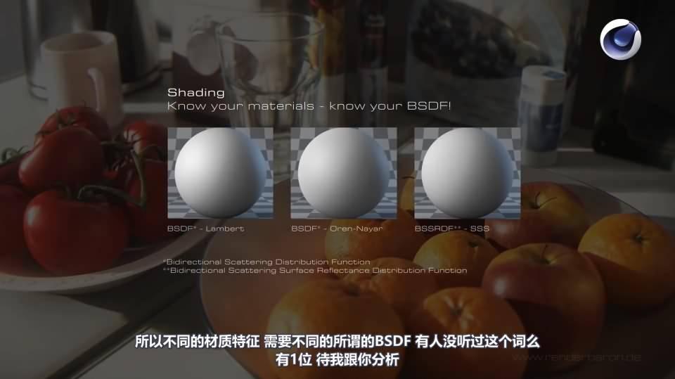 【VIP专享】CG&VFX 渲染宝典《写实主义的要素》增强真实感的那些细节 Ingredients to Realism (含工程文件) 视频教程 - R站|学习使我快乐! - 7